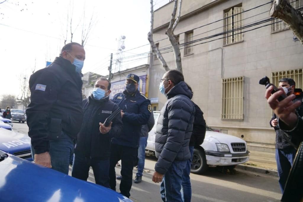 Provincia en marcha: El Intendente Pisano recibió al Ministro de Seguridad Bonaerense Sergio Berni