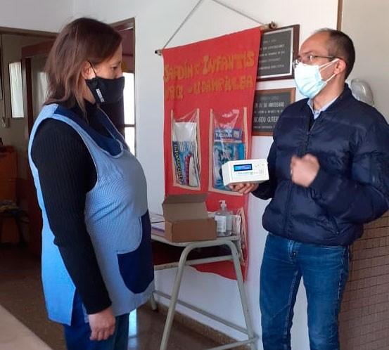 """Daniela Arenaza O'Connell: """"Queremos que sepan que garantizamos las condiciones sanitarias y las medidas de calefacción y ventilación"""""""