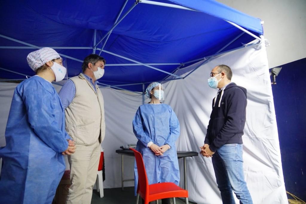 En Urdampilleta y Pirovano, 252 vecinos fueron inoculados este sábado