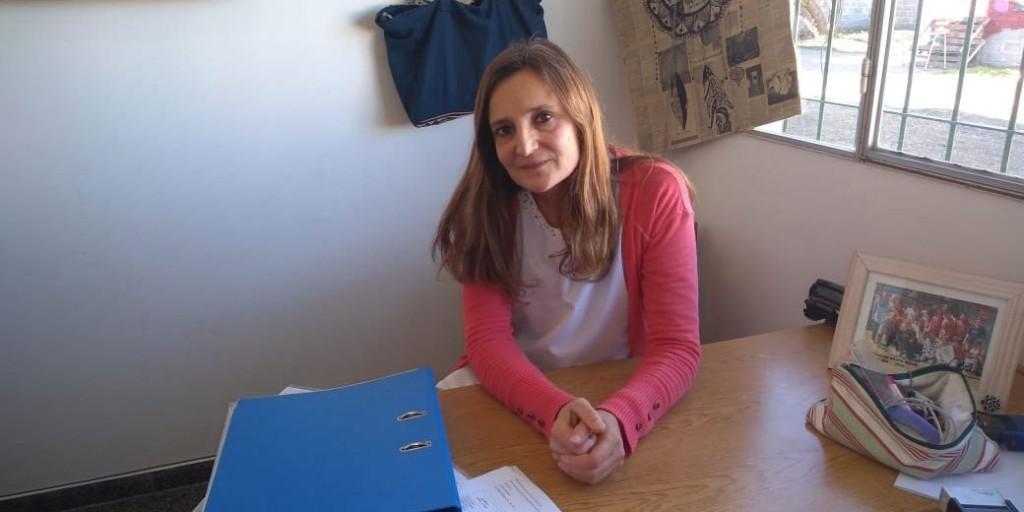 """María José Calvo: """"Comenzamos con la semipresencialidad en el receso invernal y los esperamos con mucha alegría"""""""