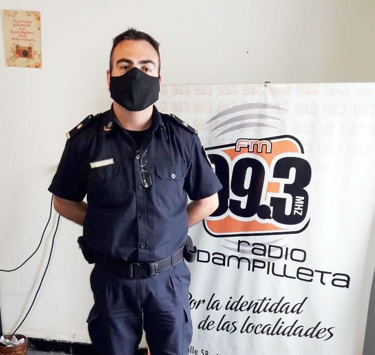 """Gabriel Santos: """"Le pido a la comunidad que no entreguen datos personales ni de cuentas bancarias, teniendo en cuenta que los delincuentes los utilizan para consumar las estafas"""""""