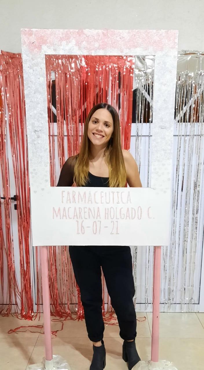 """Macarena Holgado: """"Me costó un poco al inicio de la carrera pero después poniéndole esfuerzo lo pude conseguir"""""""