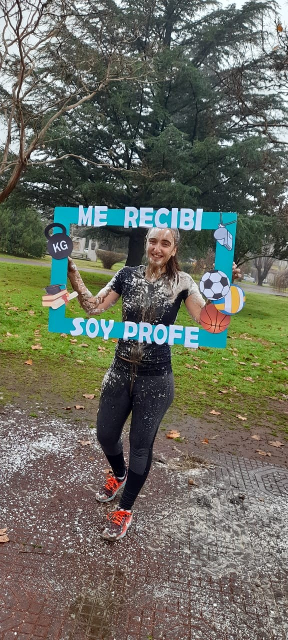 Urdampilleta tiene una nueva Profesora de Educación Física: Tamara Infantas