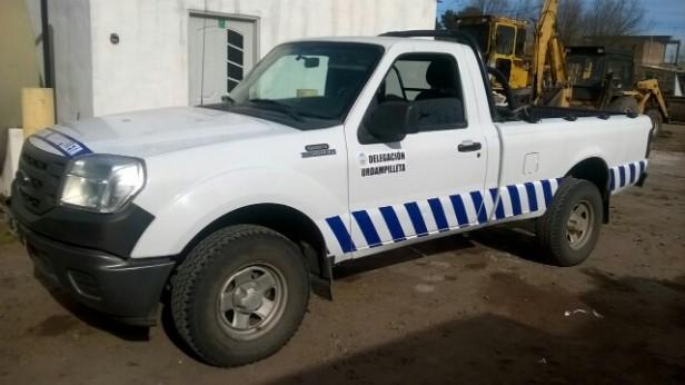 Ya está en funcionamiento la camioneta de la Delegación Municipal