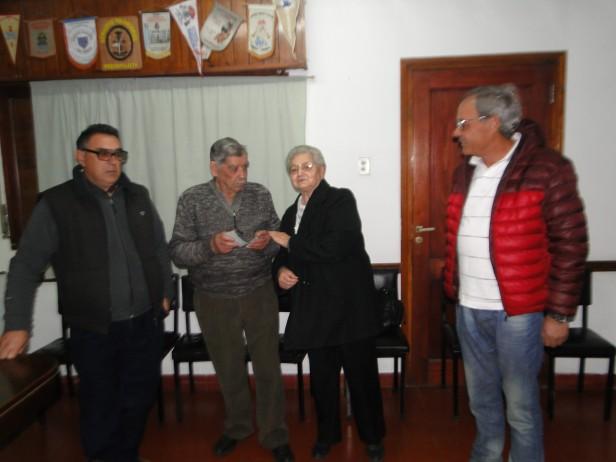 Se realizó el sorteo del Bomberos Voluntarios de Urdampilleta