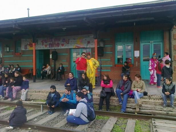 Urdampilleta y Pirovano festejaron el 'Día del Niño'