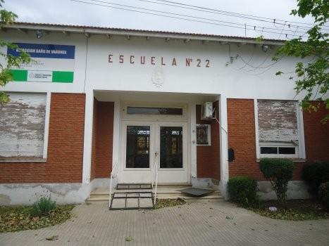 Robo en la Escuela Nº22 de Urdampilleta