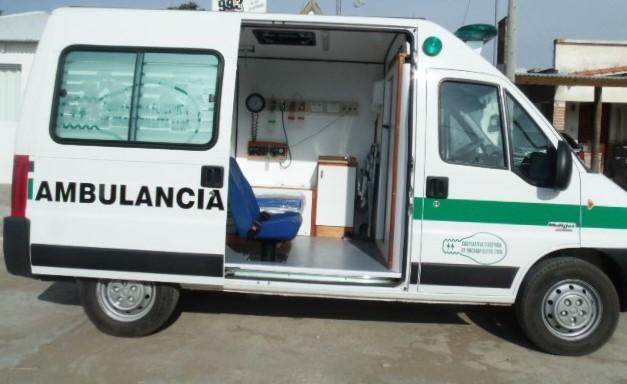 La Cooperativa Eléctrica de Urdampilleta adquirió una nueva ambulancia