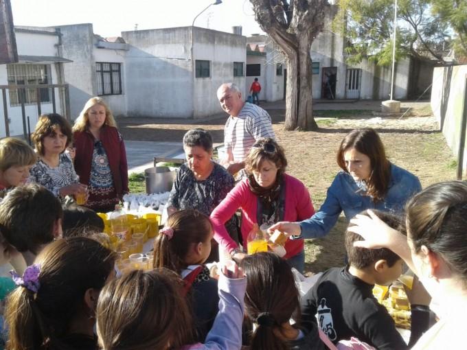 Urdampilleta y Pirovano festejaron el Día del Niño
