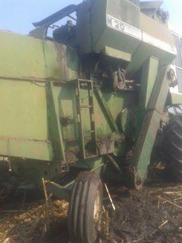 Bomberos de Pirovano: Incendio de pastos y principio de incendio en una cosechadora