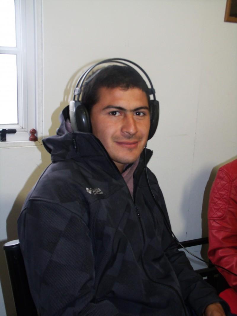 Zalazar: 'El grupo está muy bien, con alegría siempre, y eso se transmite en la cancha'