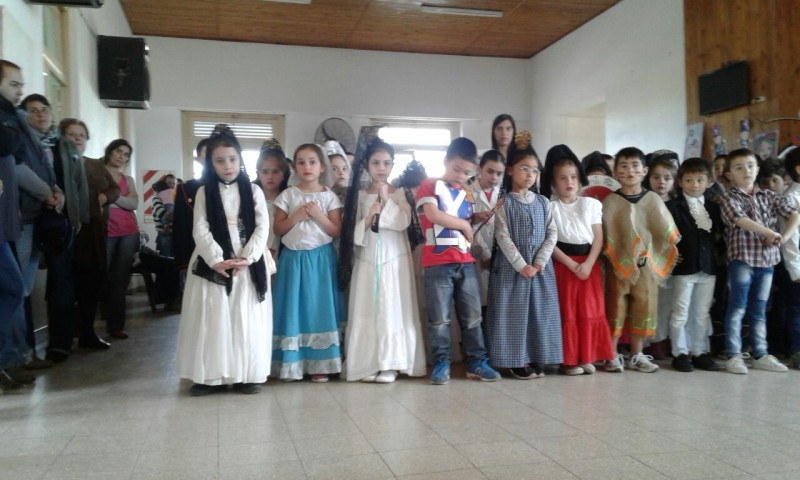 Escuela N° 22 Acto en conmemoración por los 167 años del tránsito a la inmortalidad del Gral. José de San Martin