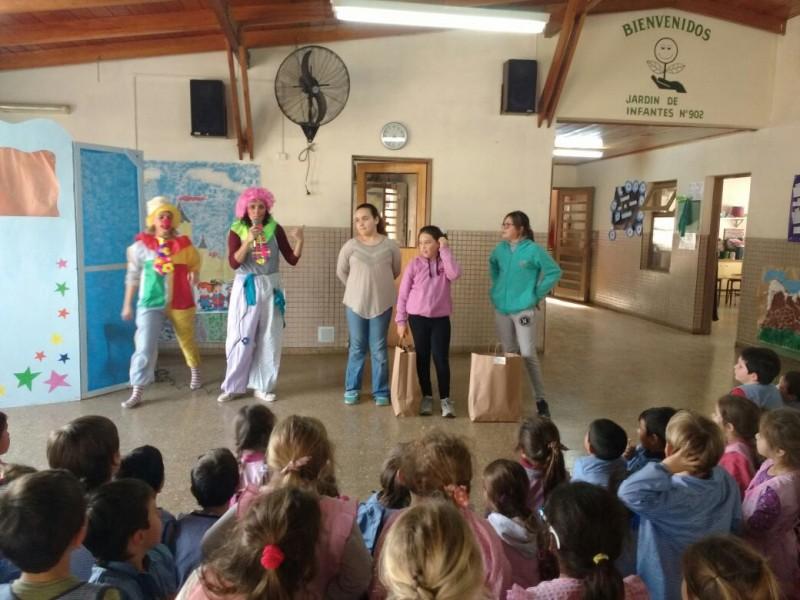 La familia de la IAM compartió festejos del Día del niño con alumnos del Jardín de Infantes