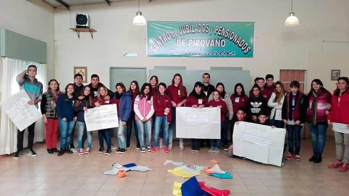Alumnos de Escuela Secundaria Nº 1 desarrollan distintas actividades en la 'Cooperativa Escolar Promover Limitada',