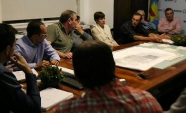 El intendente Bucca recibió a la Comisión Vial