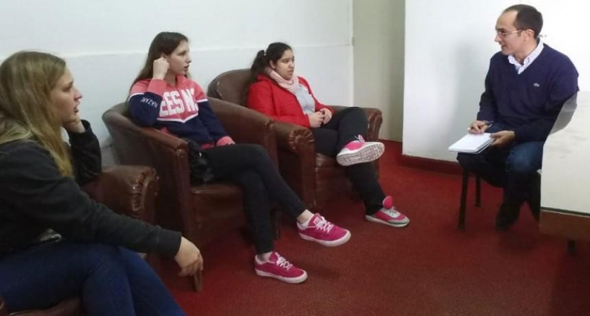 El intendente Pisano comenzó la semana con su agenda en Urdampilleta