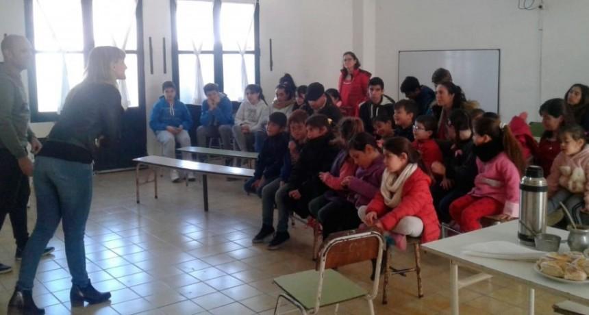Niñez y DDHH brindaron un taller en Pirovano