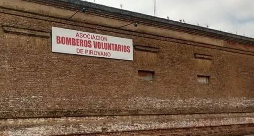 Leonardo Astorga; Bomberos de Pirovano: 'Es una linda institución para ayudar y formar parte'