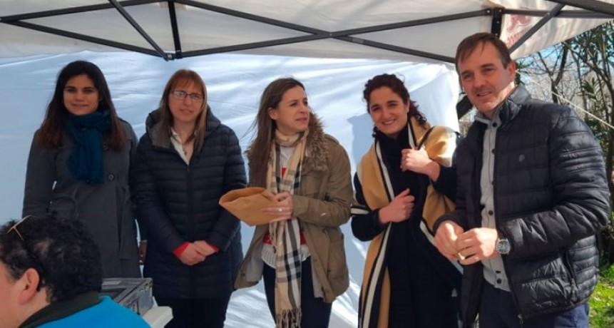 La casa de la Provincia estuvo en Pirovano con el programa 'Tu provincia Cerca'