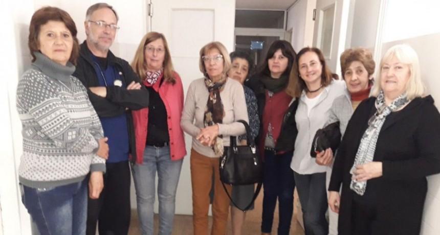 Se hizo entrega de aparatología al área de kinesiología del hospital Juana G de Miguens
