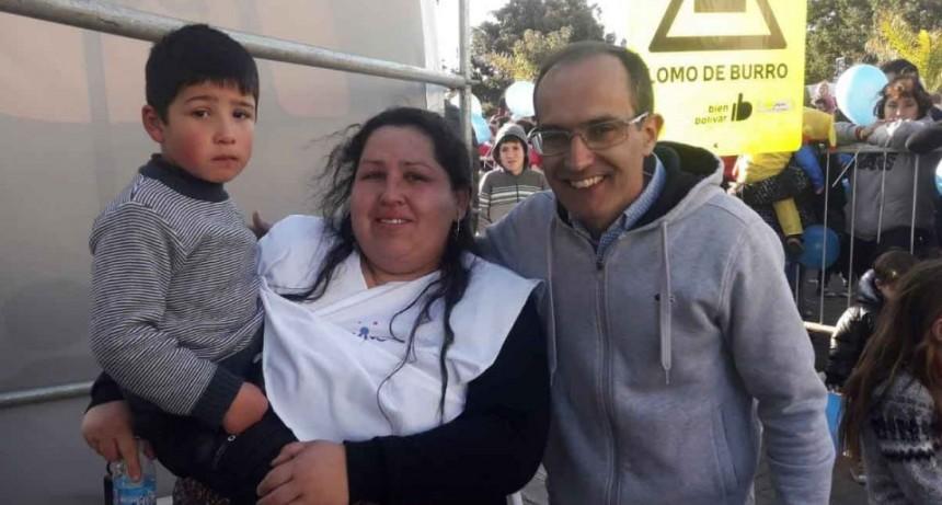 Lilia Palina: 'La respuesta del municipio de hacerse cargo de lo que falte me completó como mamá'