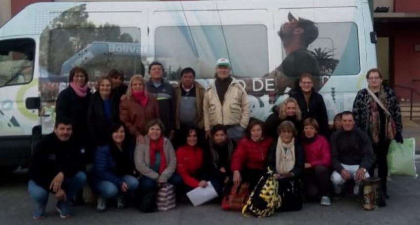 A través del programa de Turismo Social Adultos Mayores de Urdampilleta viajaron a Carhué
