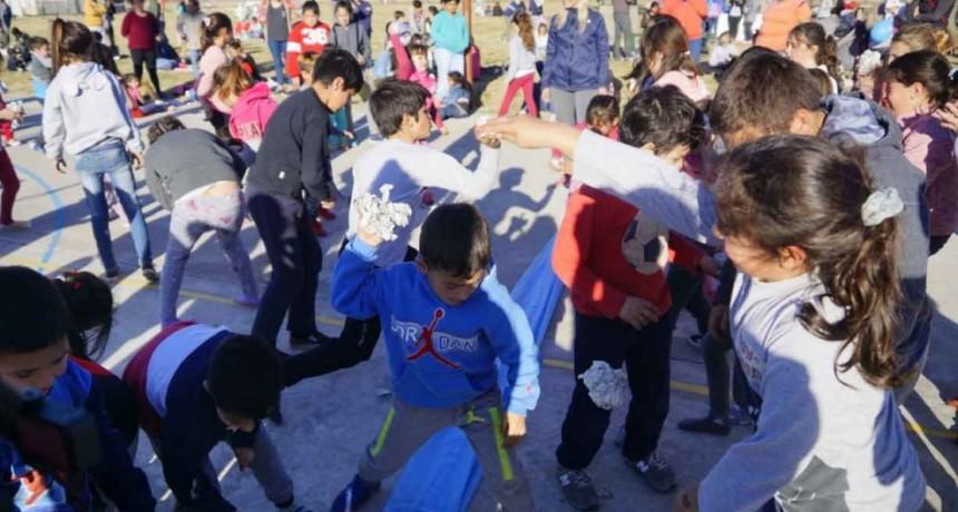 Pirovano disfrutó el festejo por el Día del Niño
