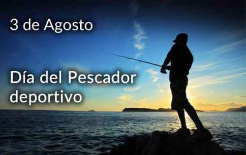 Día del pescador deportivo