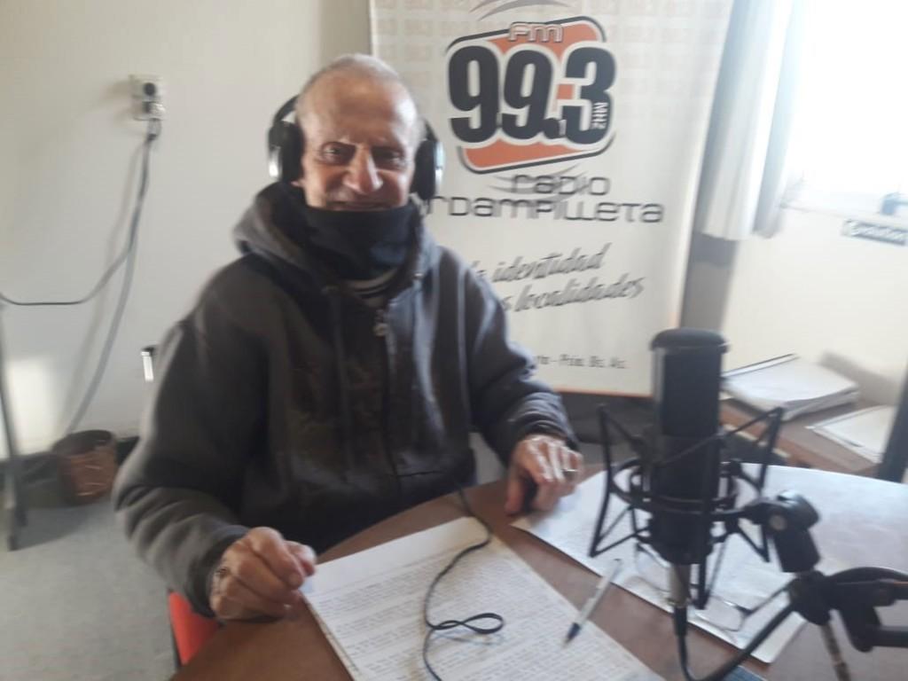 Aroldo y el Tango volvieron al aire de Radio Urdampilleta