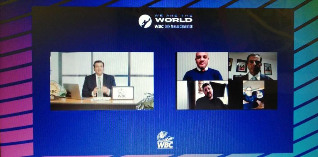Boxeo Sin Cadenas dijo presente en la convención del WBC