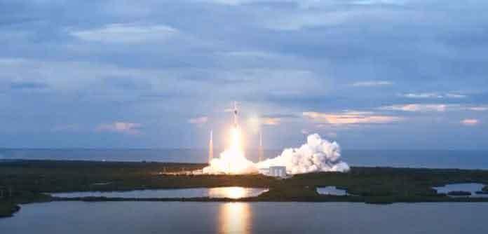 El Saocom 1B despegó con éxito desde la base de Cabo Cañaveral