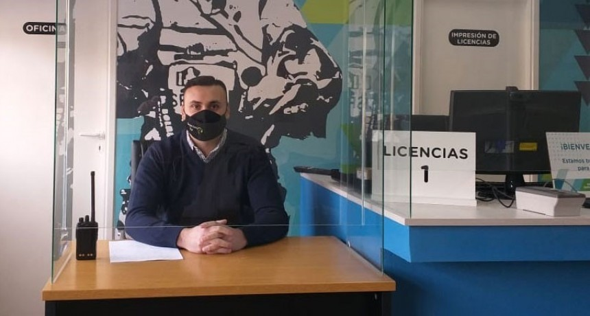 Desde el próximo lunes se realizaran las renovaciones de licencias de conducir en la localidad