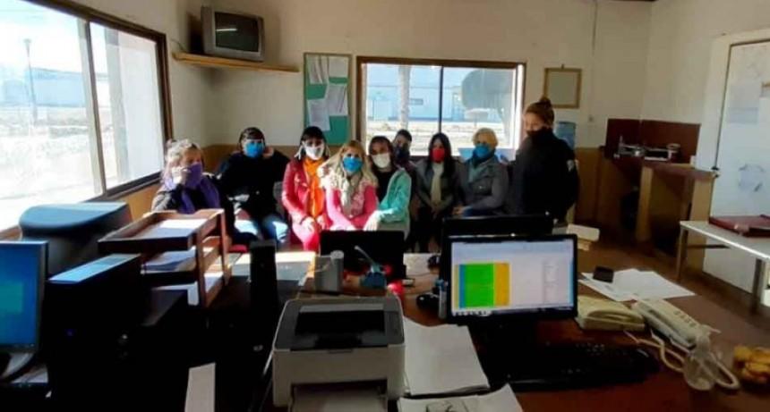 Sierra Chica; Encuentro virtual de las internas trans con la Subdirección General de Políticas de Género