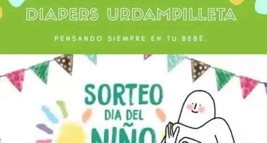 Super sorteo Día del Niño en Diapers Urdampilleta