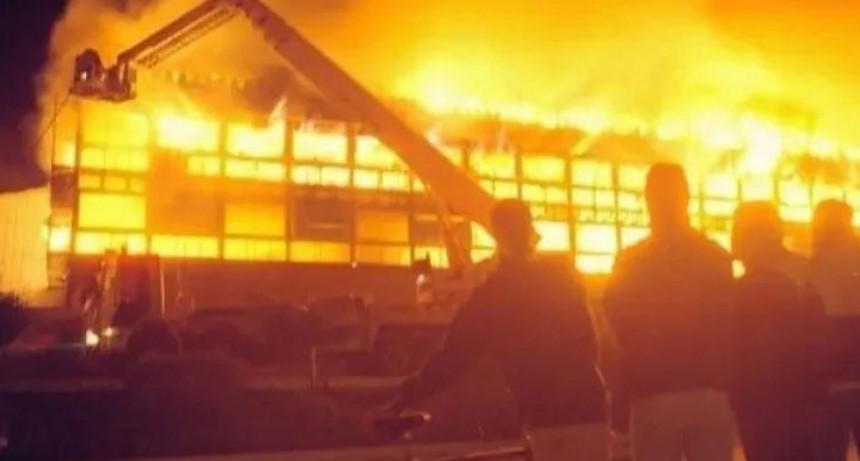 Necochea: el casino se prendió fuego por tercera vez en su historia