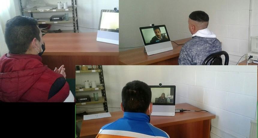 Unidad Penitenciaria Nº17; Video conferencias, importante recurso tecnológico en épocas de pandemia