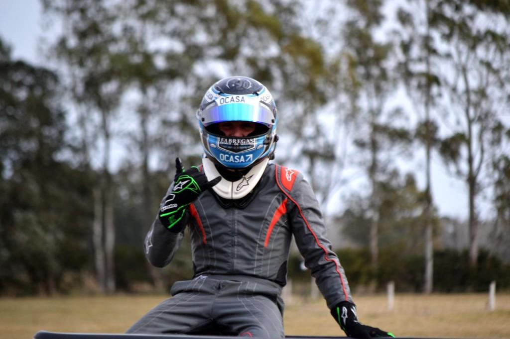 """Simón Marcos: """"Encontramos un chasis muy firme a lo largo del fin de semana y logramos ganar"""""""