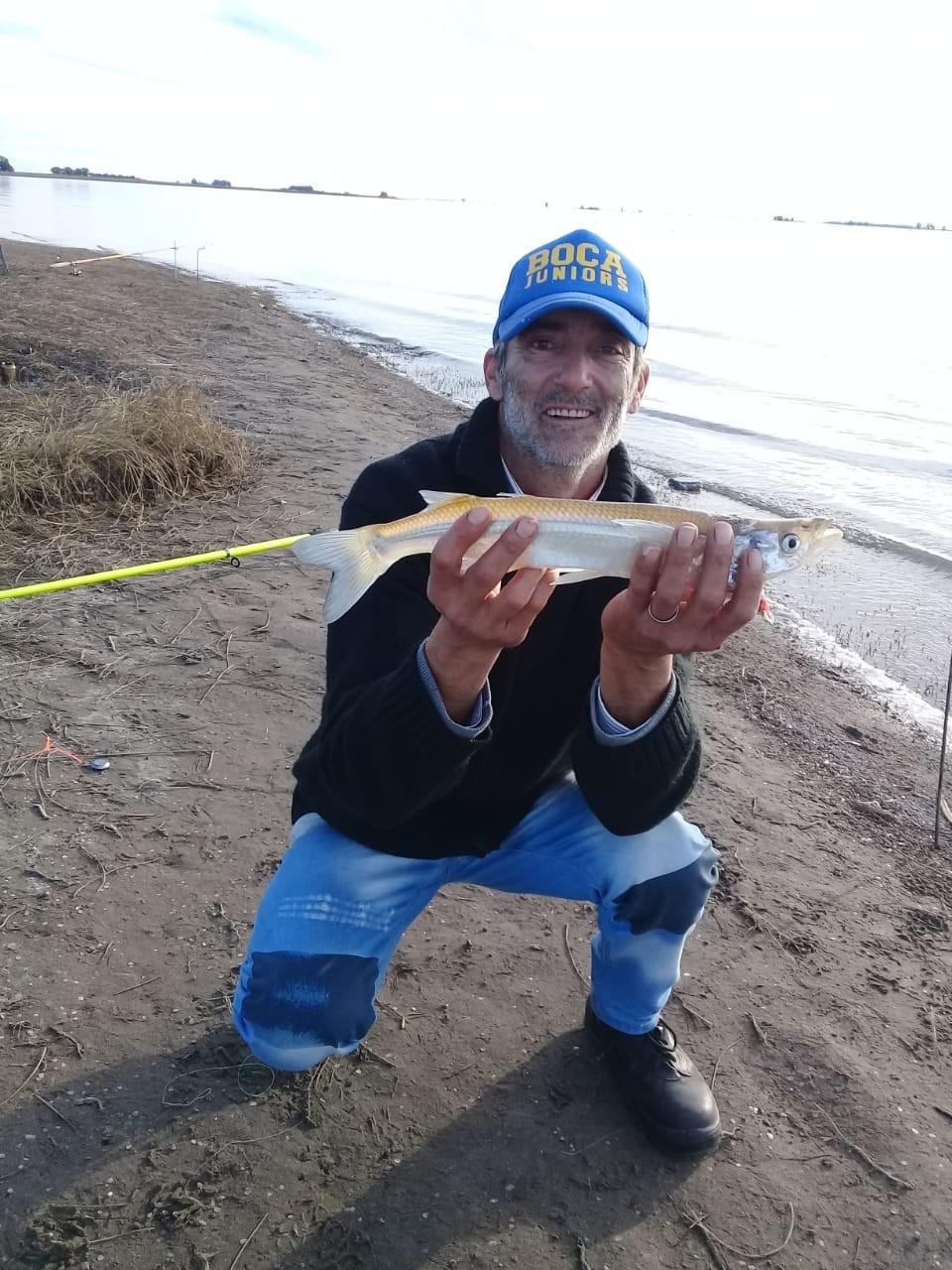 """Jorge """"Pali"""" Ruggeri: """"La pesca es amigos y diversión por eso se comparte y se practica mucho"""""""