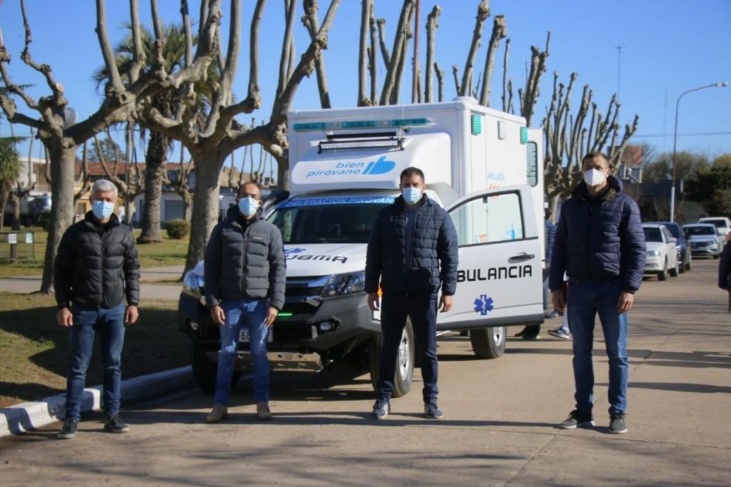 """Alejandro Lappena: """"Contar con una ambulancia 4x4 en la amplia zona rural que tenemos es primordial"""""""