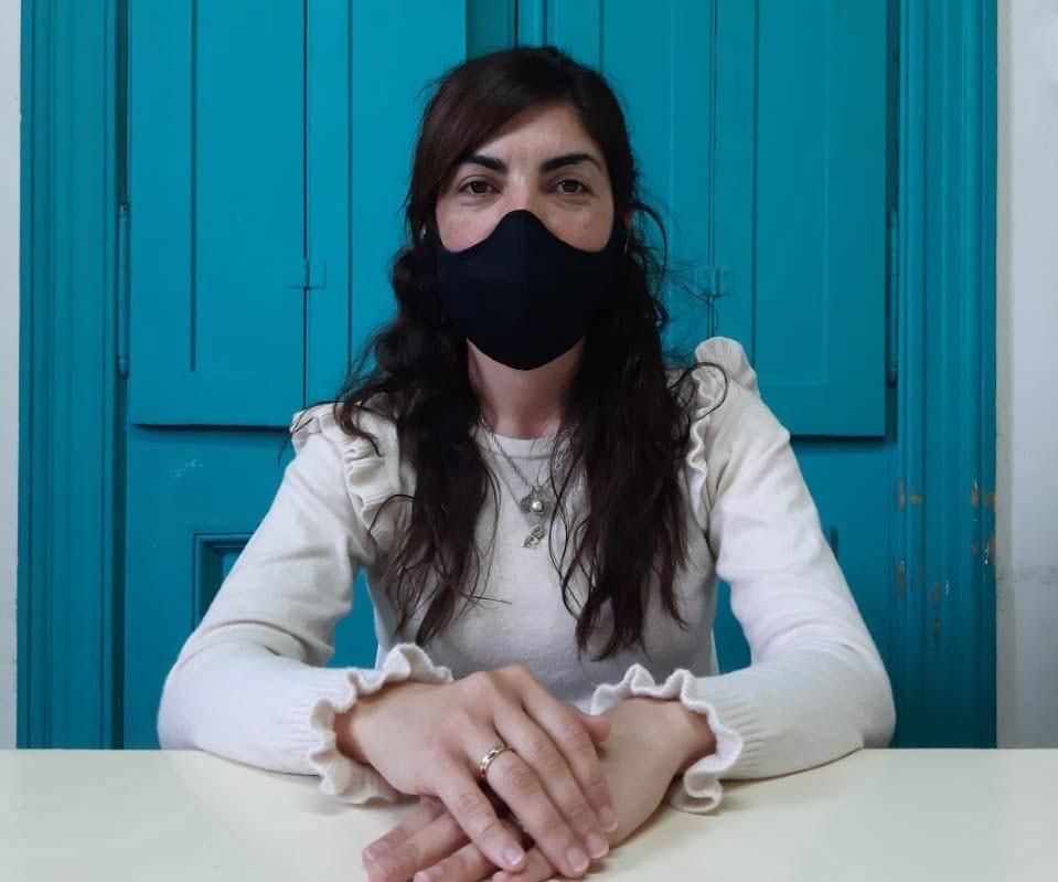 Érica Moriones; 'Venimos haciendo muchas obras no solo en Bolívar sino también en las localidades'