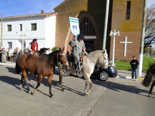 Los gauchos peregrinos ya están en camino