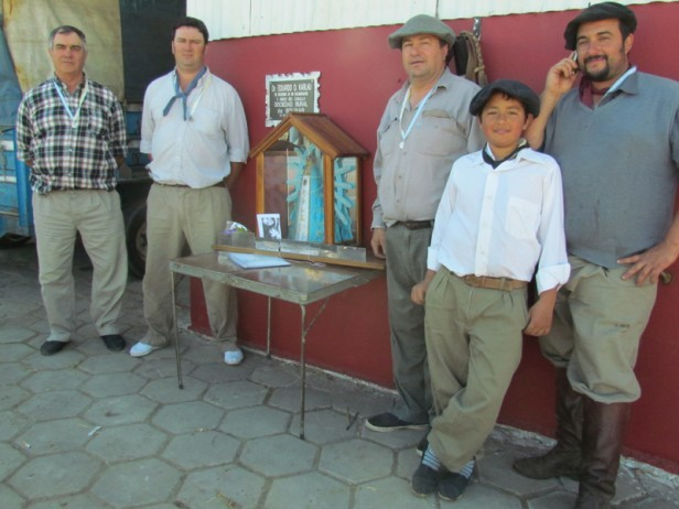 Los gauchos peregrinos Urdampilletenses siguen en viaje para Lujan