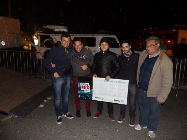 Las Pelotas cerró el Bolívar Rock 2014