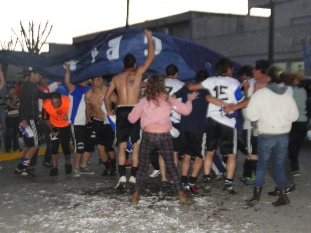 """Agrario Campeón del Futbol Rural y Campeonato denominado Enrique """"Tete"""" Portilla de Primera división."""