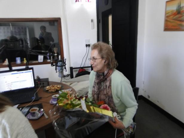 Este 11 de septiembre, Día del Maestro, Radio Urdampilleta homenajeó a 'Cati ' Capiello