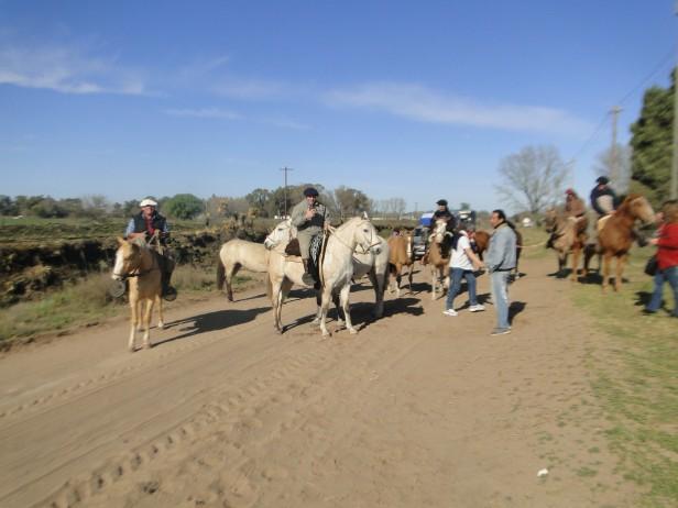 Ya está en mcarcha el primer grupo de peregrinos hacia Luján