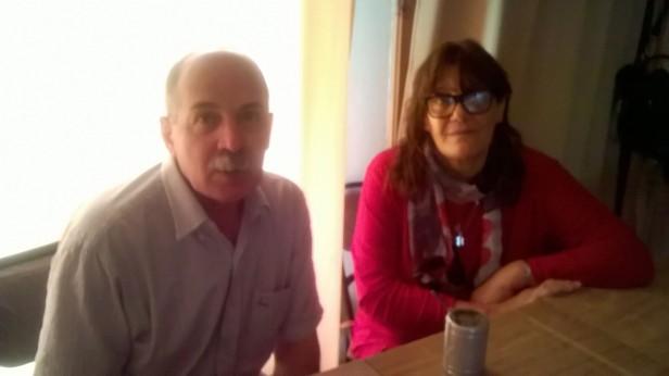 Dos urdampilletenses en casa, tras un grave accidente volviendo de sus vacaciones