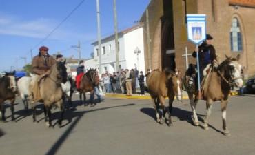 Los peregrinos urdapilletenses ya están rumbo a Luján