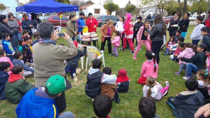 El Comité de la UCR festejó el Día del Niño en Urdampilleta