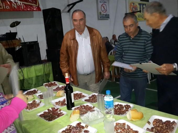 Germán Sánchez ganador de 13º Fiesta del Chorizo Seco en Pirovano
